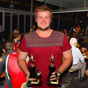 "RTCA ""B"" Grade Bowling Average and  Bowling Aggregate  Luke Pont (Wunkar)"