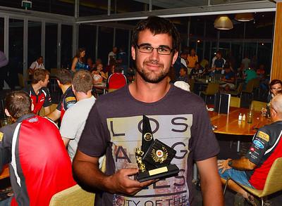 "RTCA ""B"" Grade Best and Fairest  Matthew Hampel (Brownswell)"