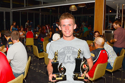 RTCA U 17 Batting Aggregate and  Cricketer of the Year  Lewis Cregan (Loxton)