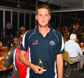 "RTCA ""A"" Grade Bowling Average, Bowling Aggregate, Overland Corner Trophy Best and Fairest,Wild Oats Trophy All-Rounder of the Year, Luke Fitsimmons (Renmark)"
