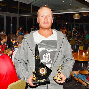 "RTCA Murray Pioneer Trophy ""A"" Grade Cricketer of the Year, Chris Hughes (Berri)"