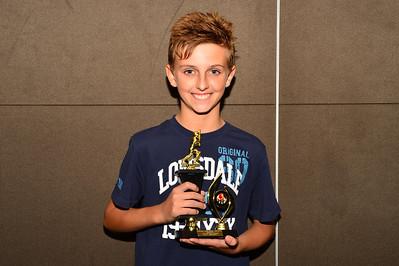RTCA U14 Batting Average Evan Gregoric