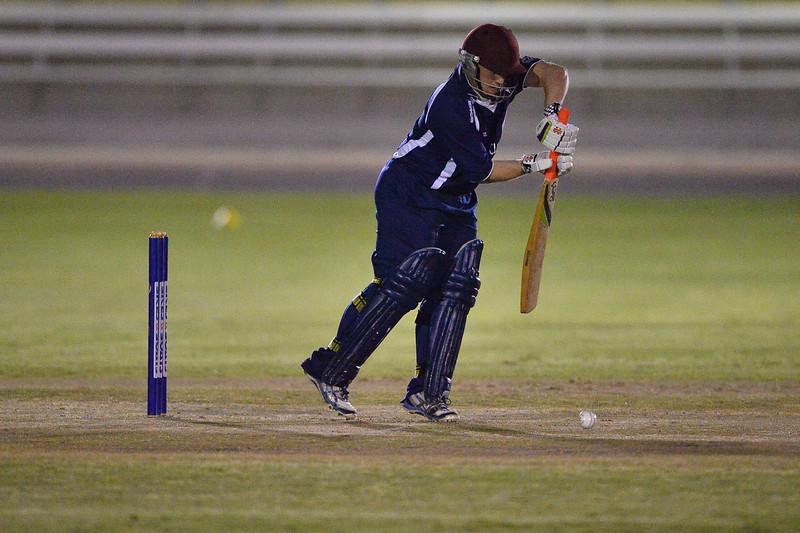 Night cricket at Renmark Oval