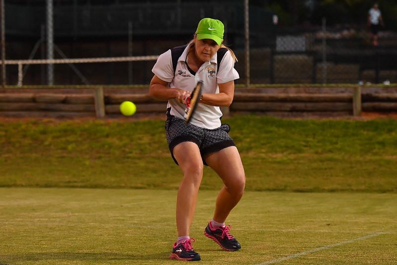 Riverland tennis Div 1 Women Renmark v Cobby