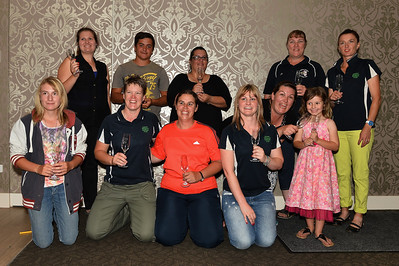 2014 Team of the Year. (Not all present, not in correct order)  Pitcher Jo Gregory, Catcher Haylee Symons, 1st Mel Loxton, 2nd Tracy Libbel, 3rd Brooke Matcham, s/s Bron Smith,  L/F Julie Cook, C/F Austin Karpany, R/F Patty Carney, Utilities Cara Venning, Amy Lidgerwood, Chloe Passmore, Nick Hocking.