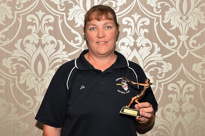"""A"" Grade Best and Fairest winner  Jo Gregory (Cobby) 22 votes"