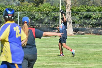 Austin Karpany (Berri) takes the catch
