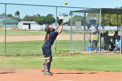 Naomi Taylor (Berri) takes the catch
