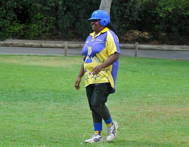 Julie Cook (Cobby) home run