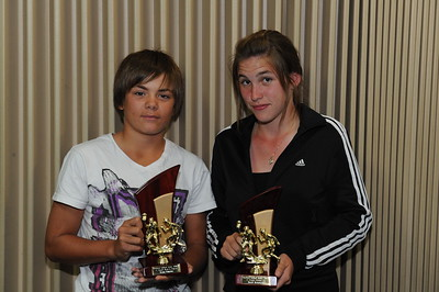 "2011/2012 ""C"" grade BEST AND FAIREST AWARD Winner    Kenny Karpany (Berri) Runner up   Sarah Armstrong (Berri)"