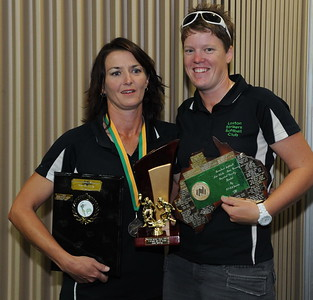2011/2012 BASE RUNNING WINNERS Cara Venning (Loxton) and Hayley Symons (Loxton)