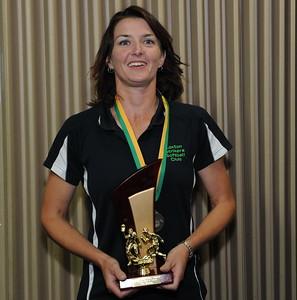 """2011/2012 """"A"""" grade BEST AND FAIREST Cara Venning (Loxton)"""