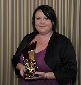 """2011/2012 """"B"""" grade BEST AND FAIREST AWARD Winner Kerri Hartup (Lyrup)"""