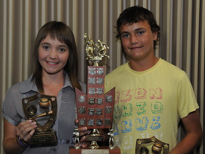 2011/2012 ROOKIES OF THE YEAR FEMALE  Naomi Taylor (Cobby) MALE      Kris Taylor (Cobby)