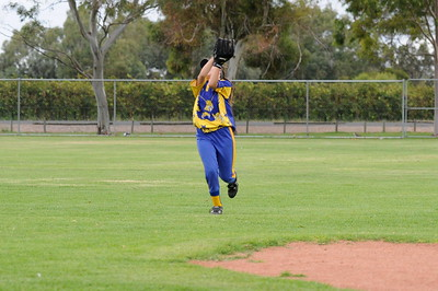 Outfield catch by Naomi Taylor (Cobby)