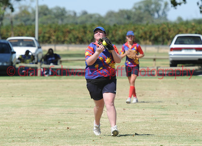 Kerri Hartup (Lyrup) takes the catch