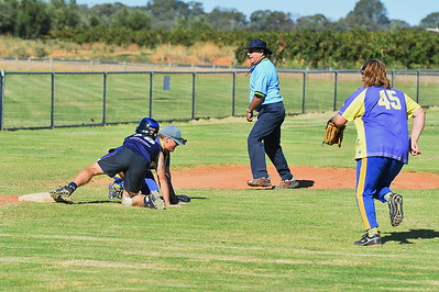 Tyler Flood (Loxton) slides safely into 3rd