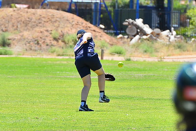 Mikayla Hammerstein (Loxton A) almost takes the catch of the year
