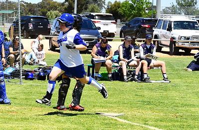 Rachel Humble (Renmark) crosses home plate