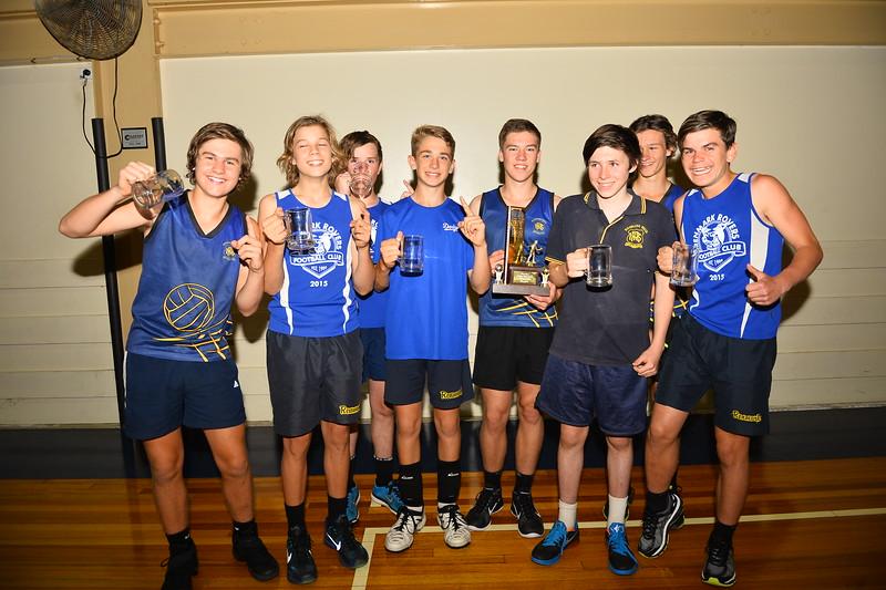"2016 ""B"" Men Renmark Volleyball Premiers"