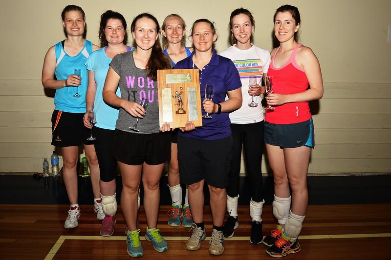 "2016 ""B"" Women Renmark Volleyball Premiers"