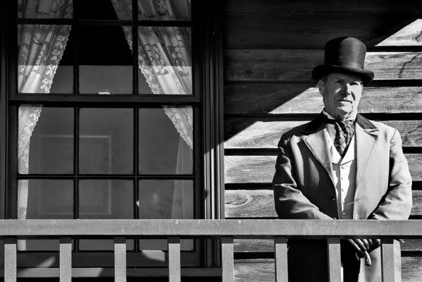1850's Gentleman, Sovereign Hill, Ballarat, Australia