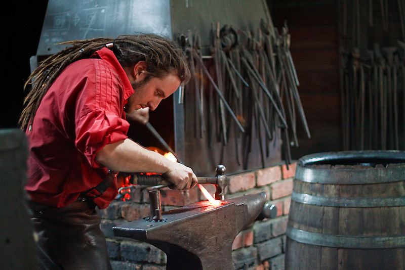 The Young Blacksmith