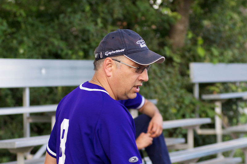 Martin Roy, le Coach Ligue de Balle Molle de Noyon de Boucherville, Saison 2011, Mauve