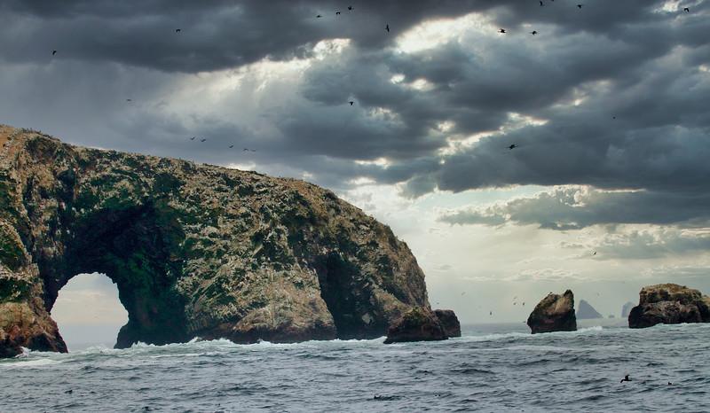 Στα νησιά Μπαγιέστας (ΠΕΡΟΥ)