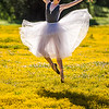 Nikon D810 Beautiful Ballerina Dancers! Goddesses Dancing Ballet!  Ballet amongst the California Spring Wildflowers!
