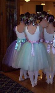Ballerinas waiting to perform