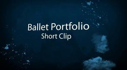 Ballet Portfolio Video Clip
