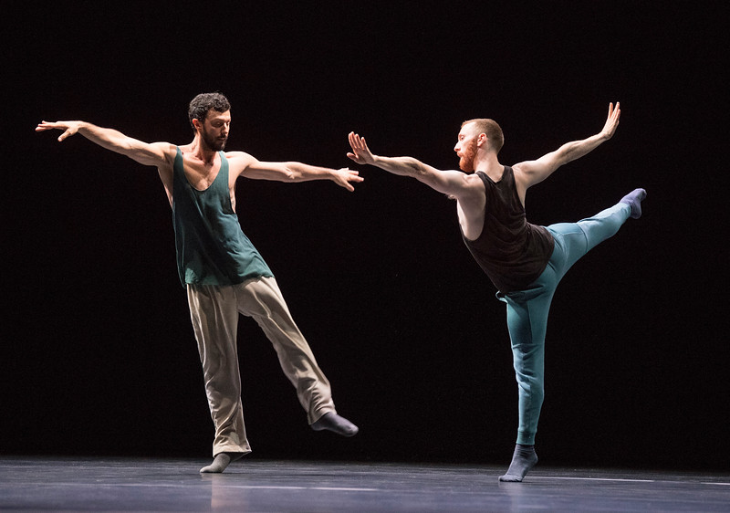 'A Quet Evening of Dance' Dance choreographed by William Forsythe and performed by William Forsythe Dance Company at Sadler's Wells Theatre, London, UK