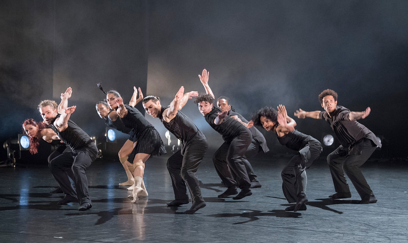 Acosta Danza Company performing at Sadler's Wells Theatre, London, UK