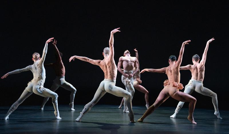 'Aisha and Abhaya' Dance performed by Rambert Dance at the Linbury Theare, Royal Opera House, London, UK