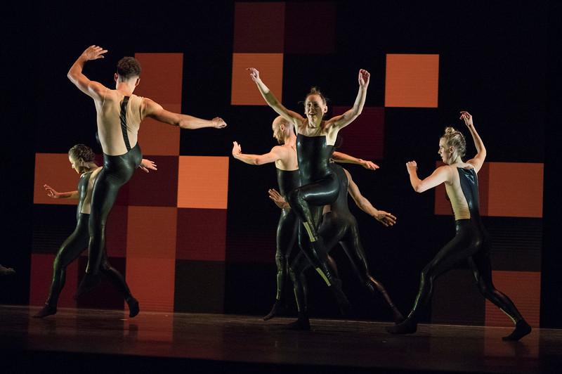 '8 Minutes' Dance choreographed by Alexander Whitley for Sadler's Wells. Performed at Sadler's Wells, London, UK