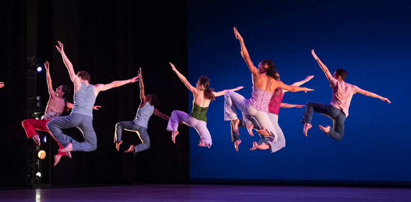 'Gipsy Mixture' Dance performed by Richard Alston Dance Company at Sadler's Wells Theatre, London, UK