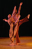 'Revelations' Dance performed by Alvin Ailey Dance Company at Sadler's Wells Theatre, London, UK