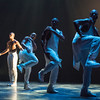 'Exodus' Dance performed by Alvin Ailey Dance Theater at Sadler's Wells Theatre, London, UK