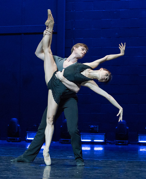 'Astana Ballet' performing in the Linbury Theatre, Royal Opera House, London, UK