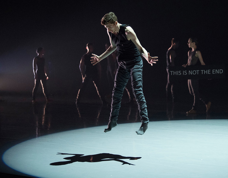 '16 + a room trailer' Dance performed by Ballet British Columbia at Sadler's Wells Theatre, London, UK