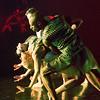 'Bayadere-The Ninth Life' Dance choreographed by Shobana Jeyasingh performed in the Linbury Studio at the Royal Opera House, London, UK