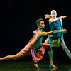 'Bayadere-The Ninth Life' Dance choreographed by Shobana Jeyasingh performed in the Linbury Studio at the Royal Opera House, London, UK