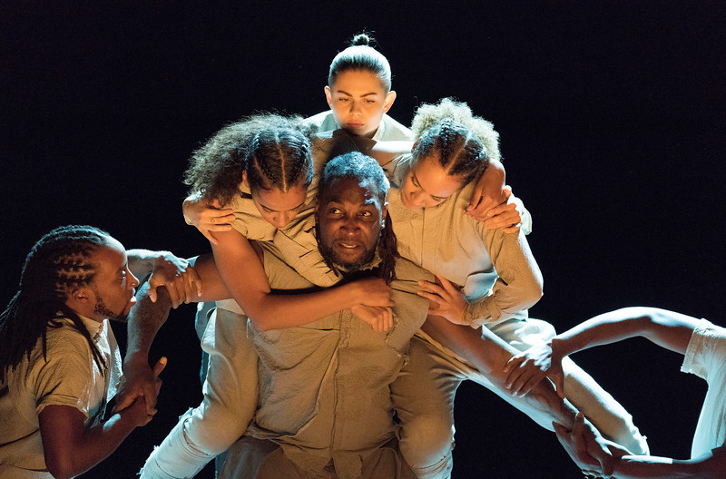 'REDD' performed by Boy Blue at the Barbican Theatre, London, UK