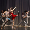 'Carmina Burana' Ballet performed by Birmingham Royal Ballet at the London Coliseum, UK