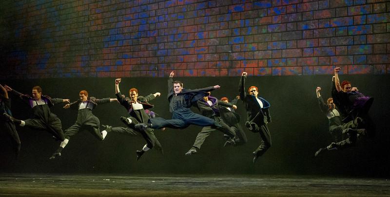 'Carmina Burana' Ballet performed by Birmingham Royal Ballet at the London Coliseum, UK