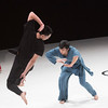 'Beckoning' Dance performed by Cloud Gate 9 Dance Company at Sadler's Wells Theatre, London, UK