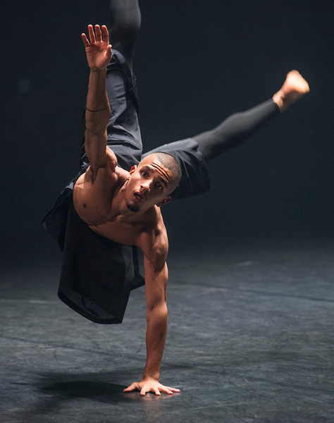 'Autobiography' Dance performed by Company Wayne McGregor at Sadler's Wells, London, UK