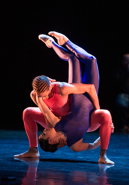 'Dark Arteries' Ballet Choreographed by Mark Baldwin, performed by Ballet Rambert at Sadler's Wells Theatre