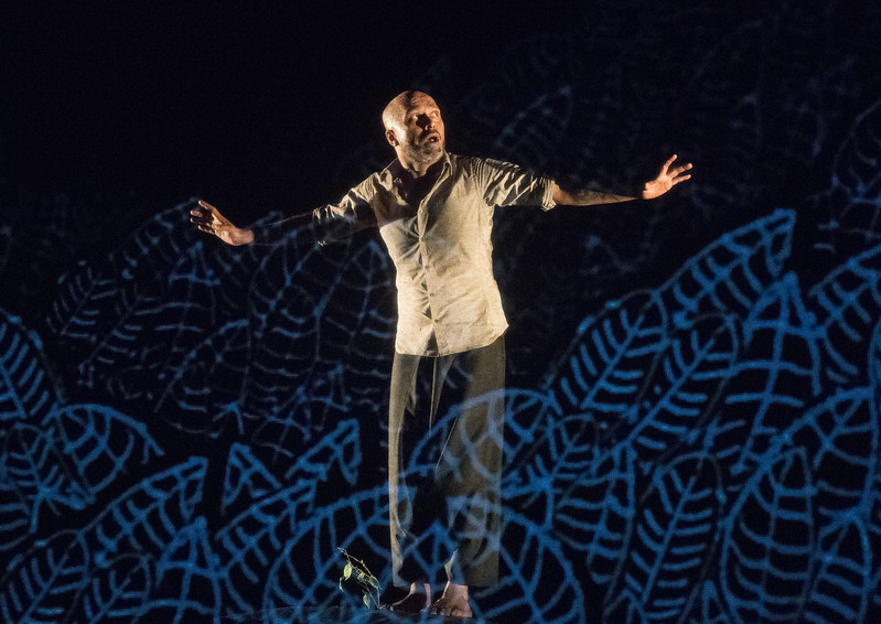 'Desh' Dance created and performed by Akram Khan at Sadler's Wells Theatre, London, UK